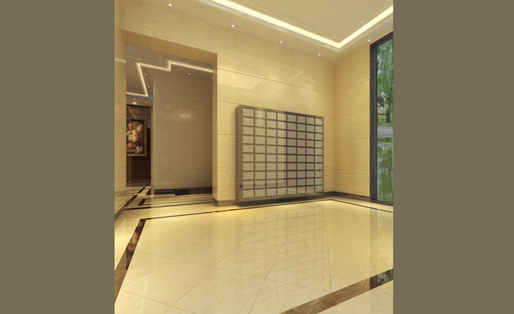 电梯入户大堂设计 - 商场装修 - 深圳凯派装饰工程