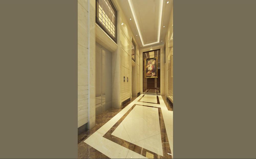 电梯入户大堂设计 - 商业空间 - 深圳办公室设计装修
